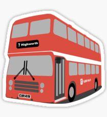 David's Bus Sticker