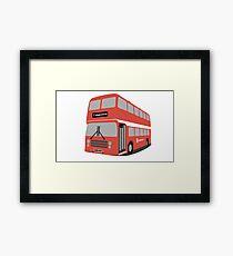 David's Bus Framed Print