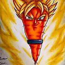 Super saiyan Carrot by Grekoarts