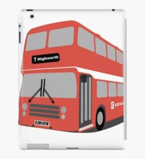 David's Bus iPad Case/Skin