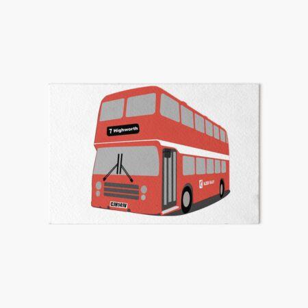 David's Bus Art Board Print