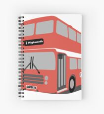 David's Bus Spiral Notebook