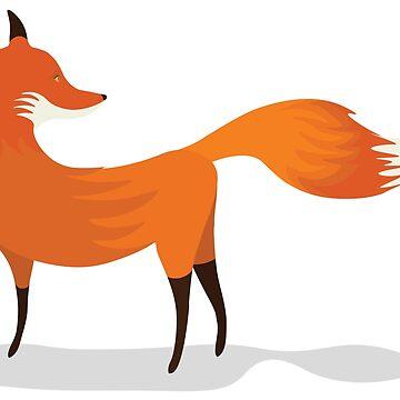 Little Red Fox by EyeSeeMS