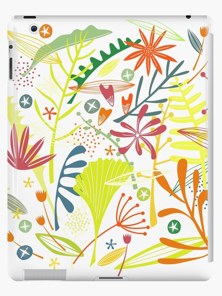 Tropical Leaves and Flowers by Nic Squirrell