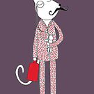 Cat in Pajamas by Nic Squirrell
