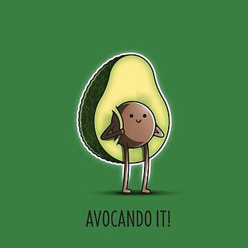 Avocando it! by LAZARE-TENDO