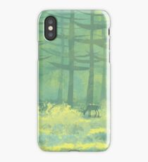 The Clearing in the Forest iPhone Case