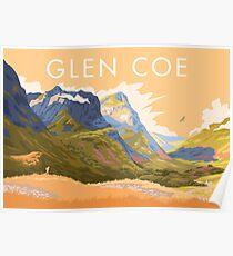 Glen Coe Scotland Poster