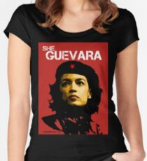 She Guevara Women's Fitted Scoop T-Shirt