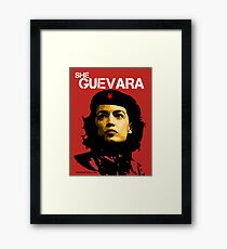 She Guevara Framed Print