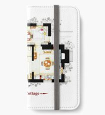Rosehill Cottage from THE HOLIDAY - Ground floor iPhone Wallet/Case/Skin