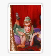 Barbara Eden, Vintage TV Star Sticker