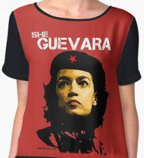 She Guevara Chiffon Top