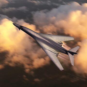 Bone On Mission by aviationart