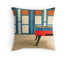 Table football Throw Pillow