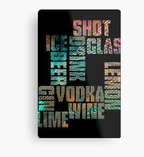 Drinks Metal Print