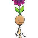 Runcible Sprouting Seedling Monster with Flower. by TakoraTakora