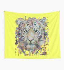 Kitten tiger Wall Tapestry