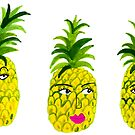 Pineapple Party: fruity fun with the Pineapple Sisters by shoshannahscrib