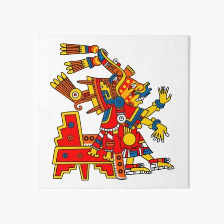 Xochiquetzal Art Board Print