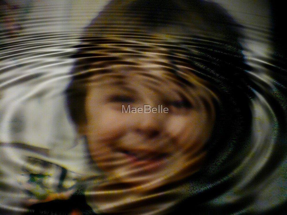 Rippled Reflections in WATER by MaeBelle