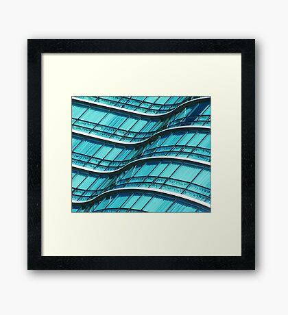 Wave 2 Framed Print