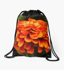 Simply Zinnia  Drawstring Bag