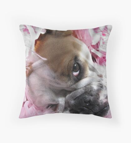 Pretty in Pink.... Throw Pillow