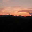 Sunset on the Blue Ridge Mountains by abryant