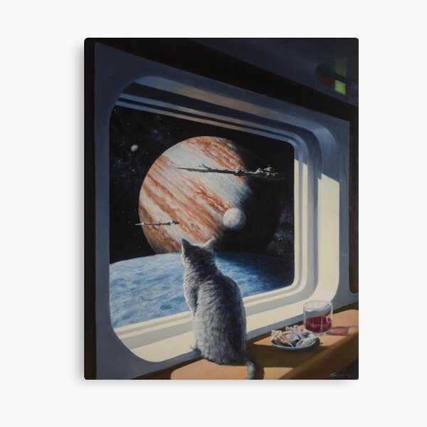 Ship's Cat Canvas Print