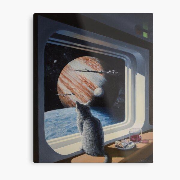 Ship's Cat Metal Print