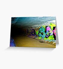 Graffiti Drain Greeting Card