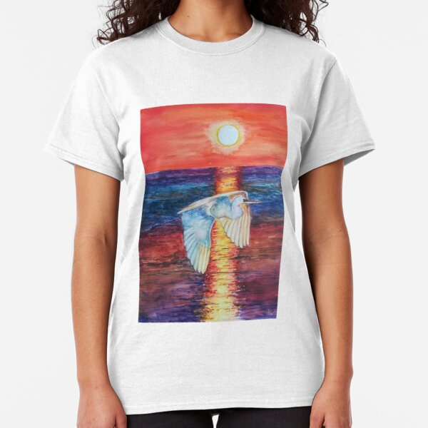 Flight at Sunset Classic T-Shirt