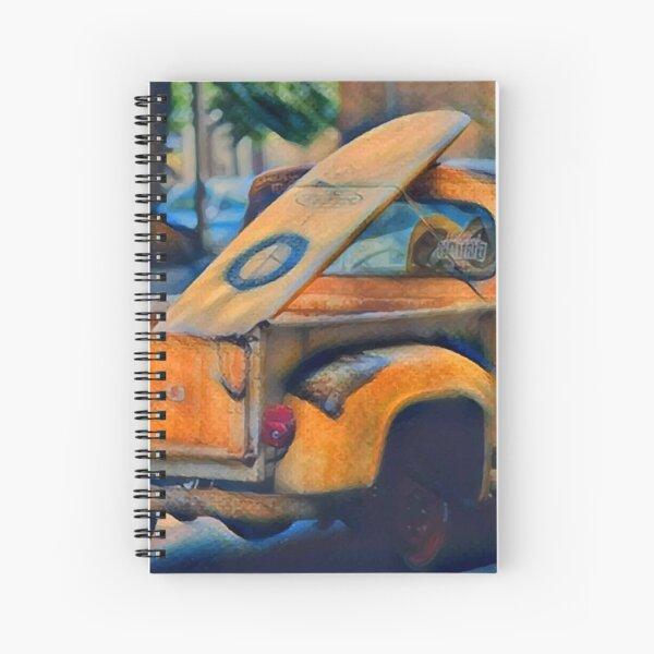 Surfer Truck Spiral Notebook