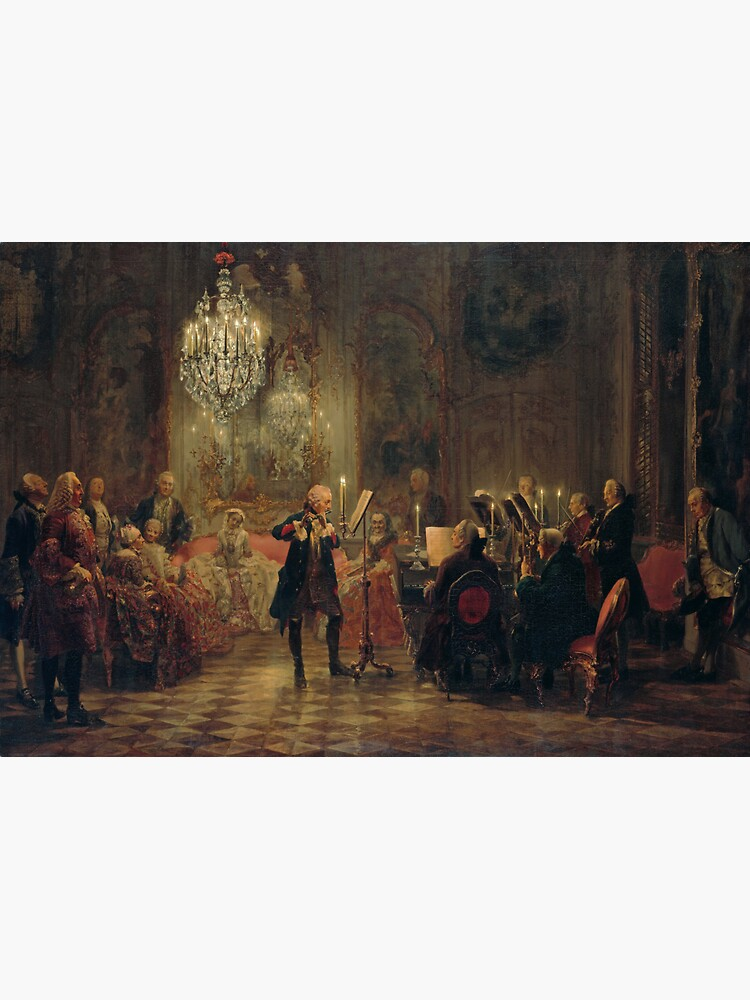 Frederick the Great Flute Concert (Flötenkonzert) by edsimoneit