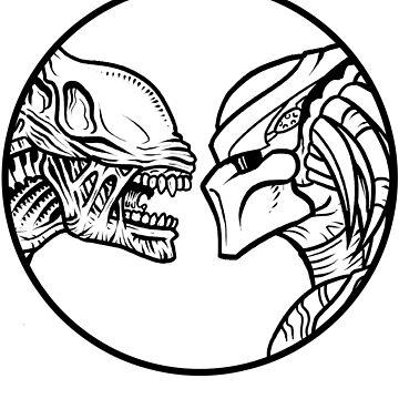 Alien vs. Predator by dellan666