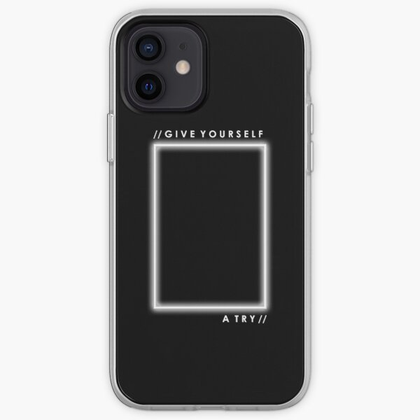 GIVE YOURSELF A TRY iPhone Soft Case