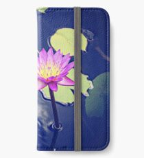 Water Lily iPhone Wallet/Case/Skin