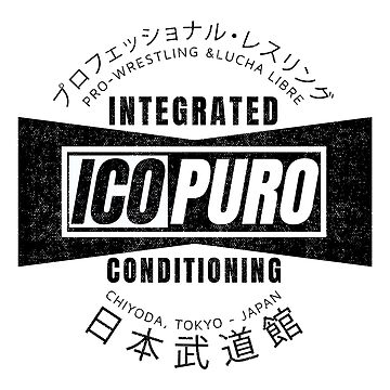 ICOPURO - Tokyo Japan - Integrated Conditioning for Puroresu - V1 by SonnyBone