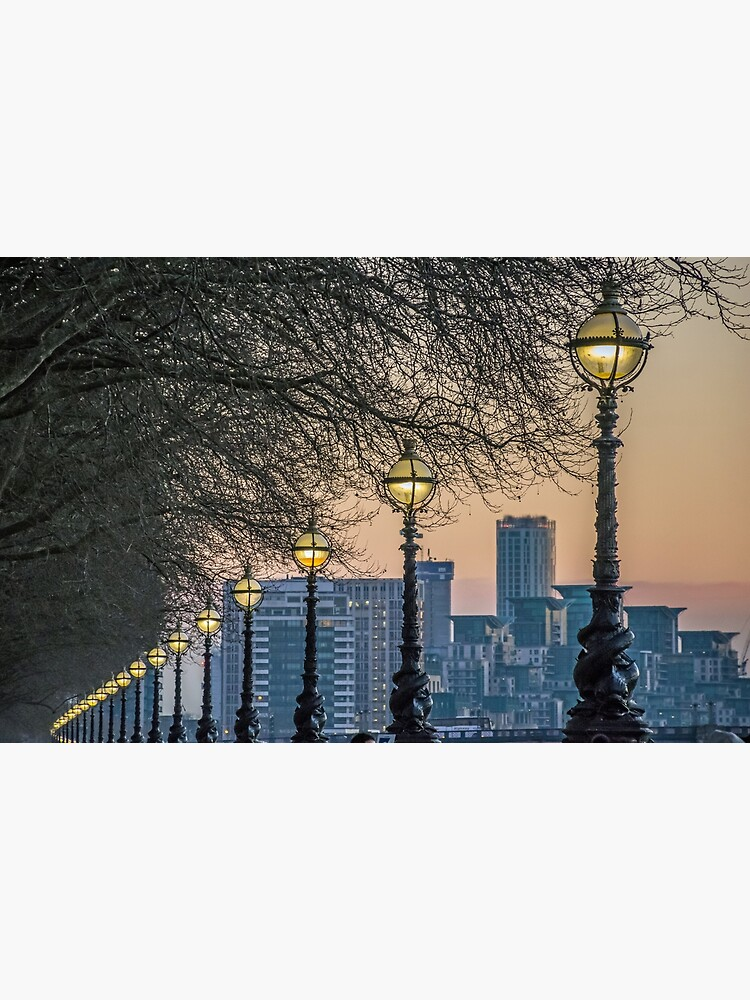 Lampposts at sunset by tdphotogifts