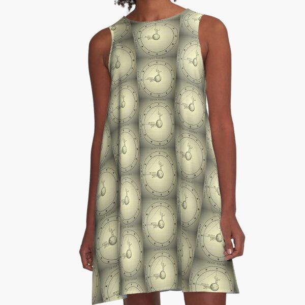 Zenith of fantastical mathematica 1854 A-Line Dress
