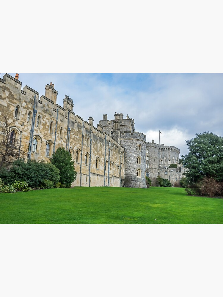 Windsor Castle from outside the gates by tdphotogifts