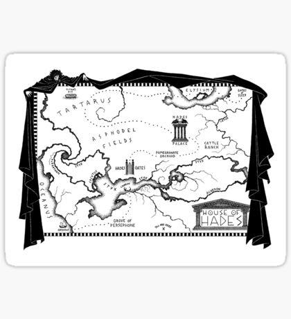 House of Hades Sticker