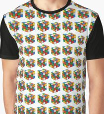 Coloured cubes of delight, mystery and logic ! Graphic T-Shirt
