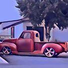 San Jacinto on Moody Blue by Fran Lafferty