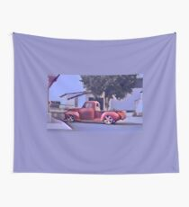 San Jacinto on Moody Blue Wall Tapestry