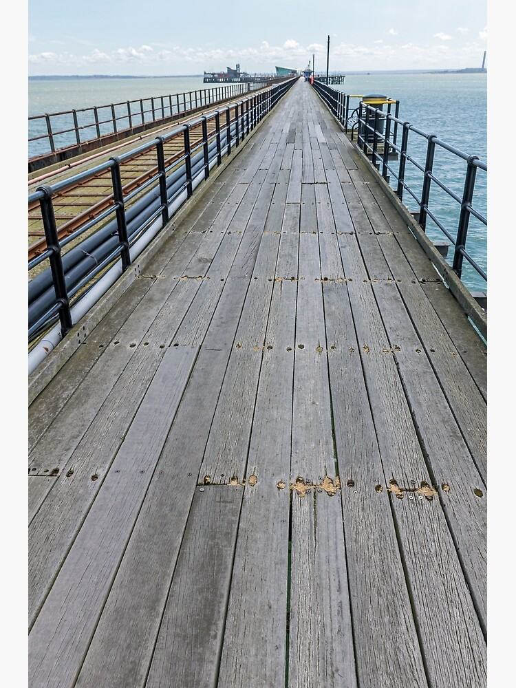 Southend-on-Sea Pier view by tdphotogifts