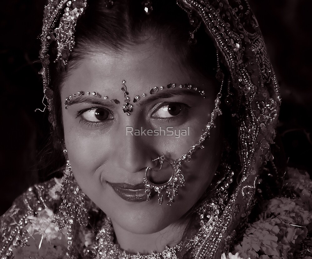 WHEN SHE SAW HER GROOM by RakeshSyal