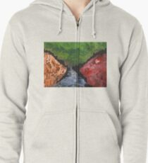 Towards the Dark Forest Zipped Hoodie