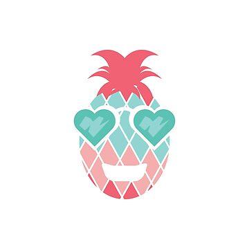 Cute Funny Happy Pineapple by saadkh